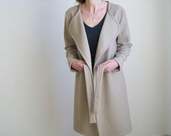 100% WOOL CASHMERE COAT / High Quality Coat/ Women Coat/ Wool Coat/ Cashmere Coat / Coat / Wool Cashmere Cape/ Women Cape/ Jacket / Blazer /