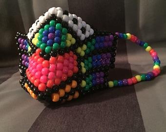 Rainbow plur warrior mask