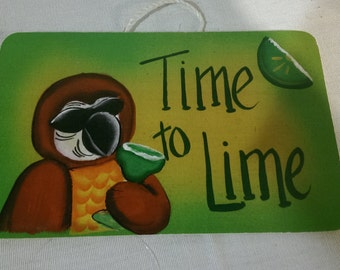 "Time To Lime -   8"" x 5.5"""