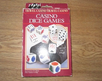 Casino Dice Games -1995 by Cardinal-Complete