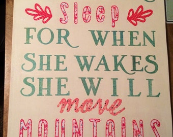 When She Sleeps