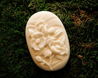 Flower Soap, Goats Milk Soap, Moisturizing, Bath, Soap, Goats Milk, Decorative Soap
