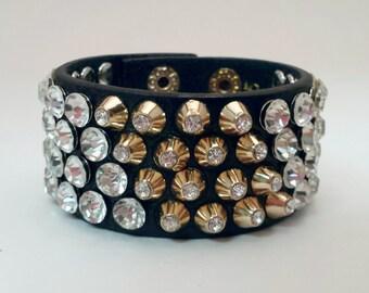 Rhinestone Stud Bracelet