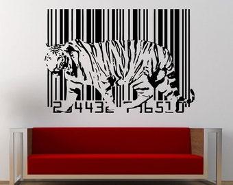 Bar Code Wall Decor Etsy