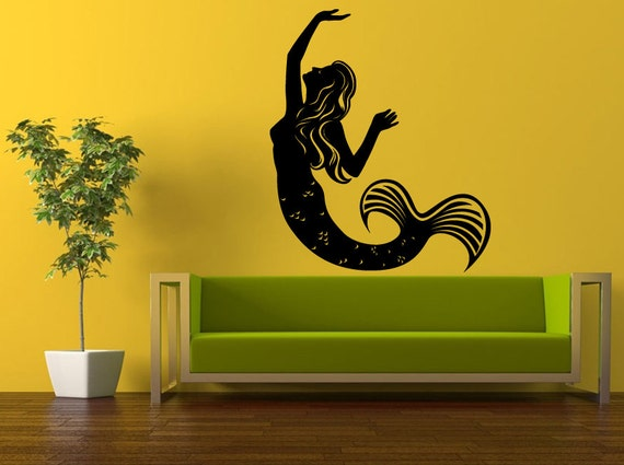 Mermaid Decal on Etsy at Decal Trend