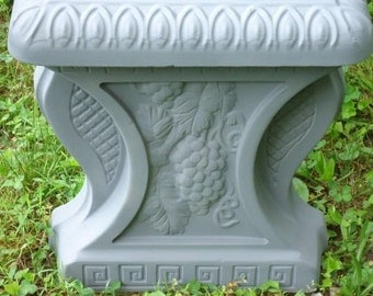 """32 """" Concrete Bench Mold set Mold 3 pc Two leg molds and Bench top mold. Make one bench each day.Make more than 50"""
