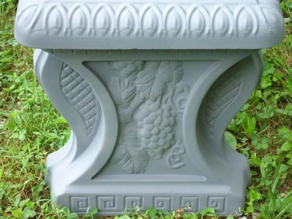 32 Concrete Bench Mold Set Mold 3 Pc Two Leg Molds And