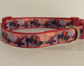 Comic Book Superhero Dog Collar