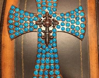 Custom handmade Marble Cross