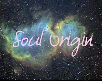 Soul Origin Channeled reading