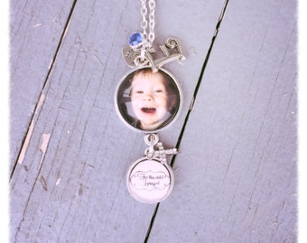 Personalized Charm Dangle Necklace
