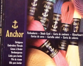Anchor Color Shade Card (real threads not printed colors)
