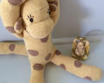 Banana Split Sock Monkey