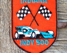 Indianapolis Indy 500 Vintage Souvenir Travel Patch from Voyager