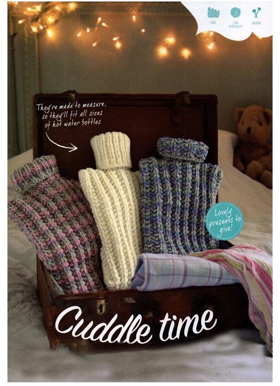 hot water bottle covers dk knitting pattern