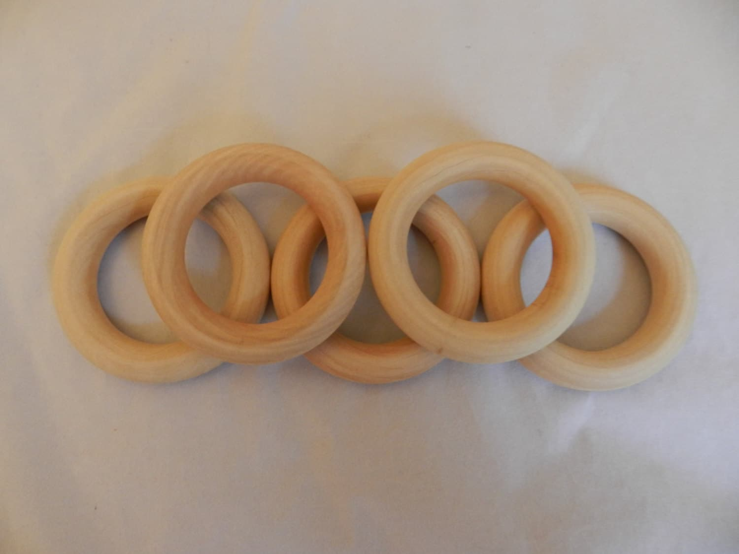 wooden rings craft rings toss rings 3 inch imperfect set of 10 On wood rings for crafts