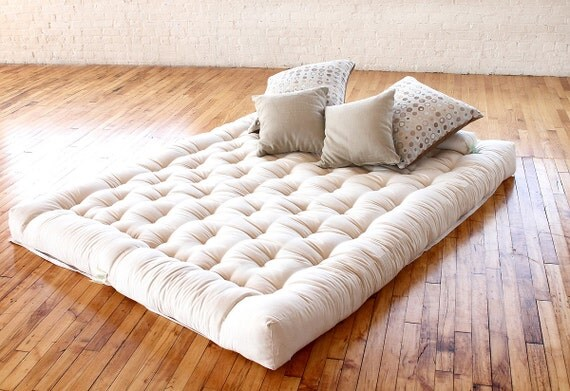 Organic Cotton and Wool Boulder Dreamton by OrganicBedding