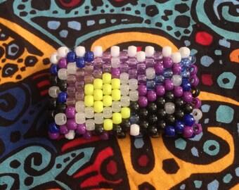 Custom Kandi Pattern Cuff