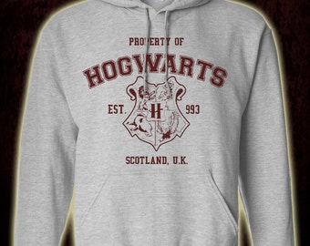 Harry Potter Property of Hogwarts Adult Unisex Hoodie
