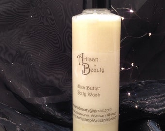 Shea Butter Body Wash - Lavender Shea Butter Body Wash - Sulfate Free Body Wash - Vegan Body Wash - Natural Body Wash - Scented Body Wash
