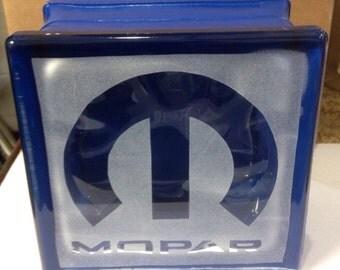 Mopar glass block