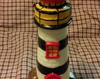Homestead Lights Medium Lighthouse Candle
