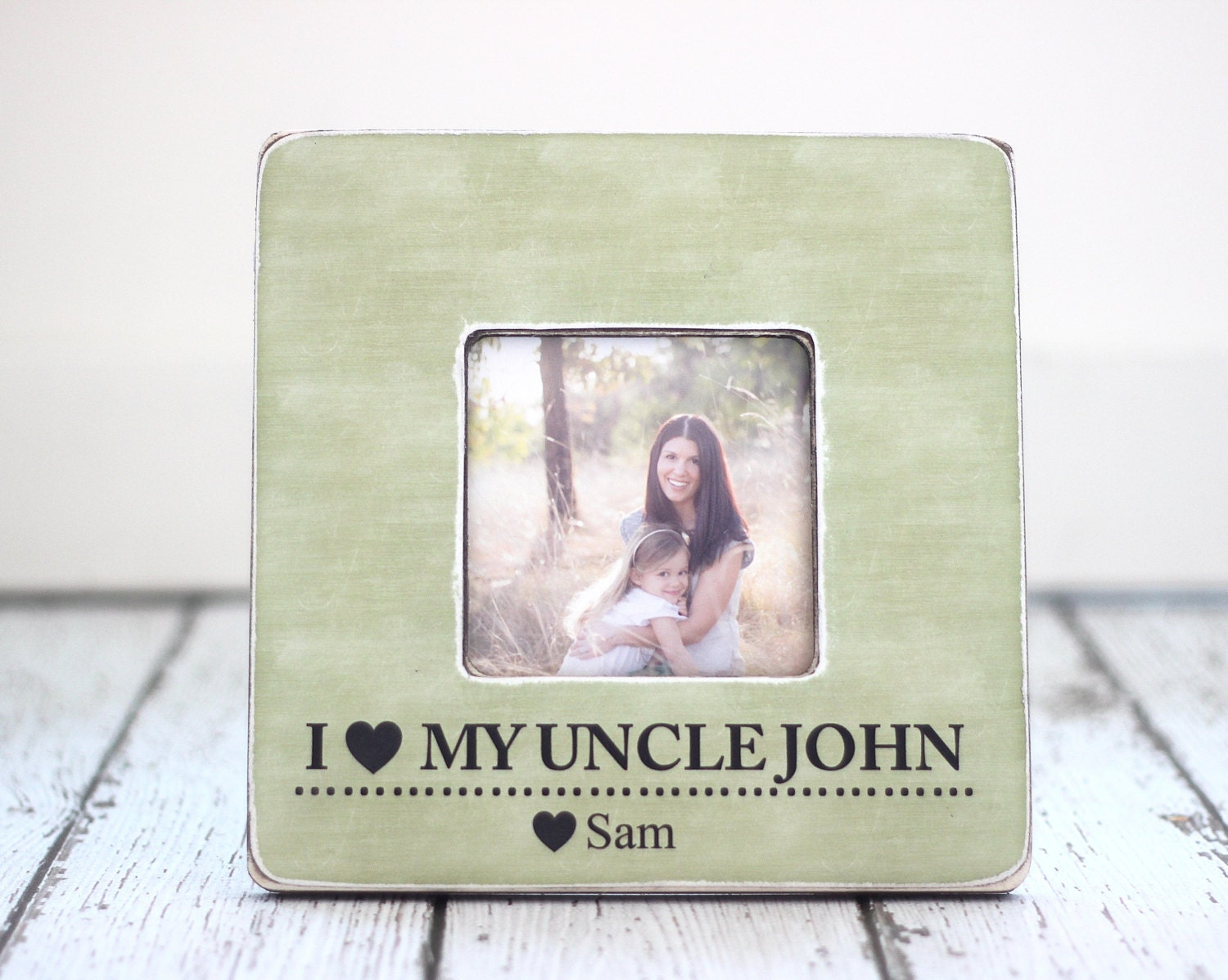 uncle gift i love my uncle personalized picture frame niece