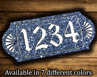 address plaque etsy. Black Bedroom Furniture Sets. Home Design Ideas