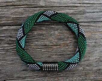 Bead crochet jewelry