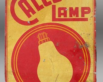 """Vintage Tin ADVERTISING SIGN, INDIA, Printed Sign (Litho), 1940s, 9"""" x 13.25"""", unmounted"""