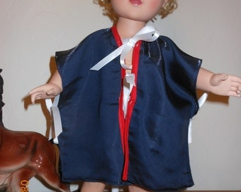Beauty Styling Cape-American Girl or 18 inch dolls
