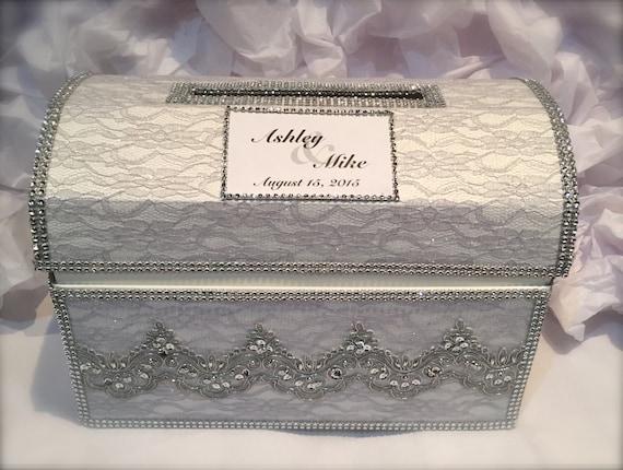 Card Gift Box Wedding: Personalized Wedding Card Box/wedding Money Box /wedding Gift
