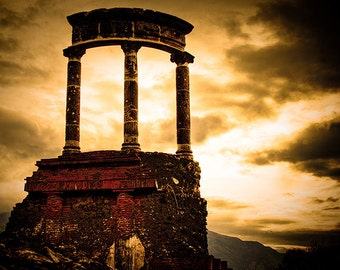 Last Stand | Italy Pompeii ruins landscape historic fine art beauty fine art wall art photography