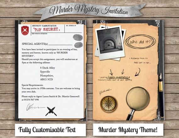 Murder Mystery Dinner Invitation for beautiful invitations ideas