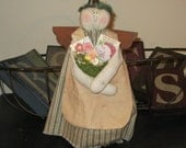 Angel Decoration - Spring Decoration - Prim Angel - Angel Doll