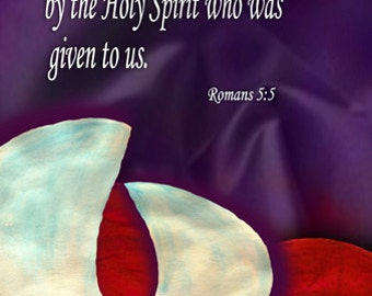 Hope with the Holy Spirit / Church or Personal Banners for Your Home or Office (G615-2)