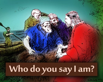 Who Do You Say (BNH6096-G3615-1)