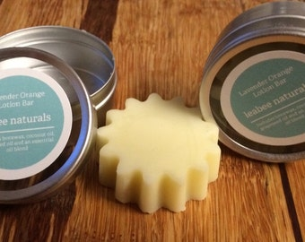 Lotion Bar with Travel Tin