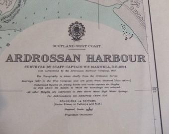 Ardrossan Harbour, including Horse Isle - Scotland, West Coast - Nautical Chart 4480