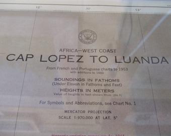 Africa, West Coast - Cap Lopez to Luanda - Nautical Chart, 2355