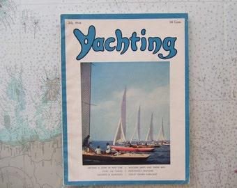 Yachting Magazine ~ July, 1944