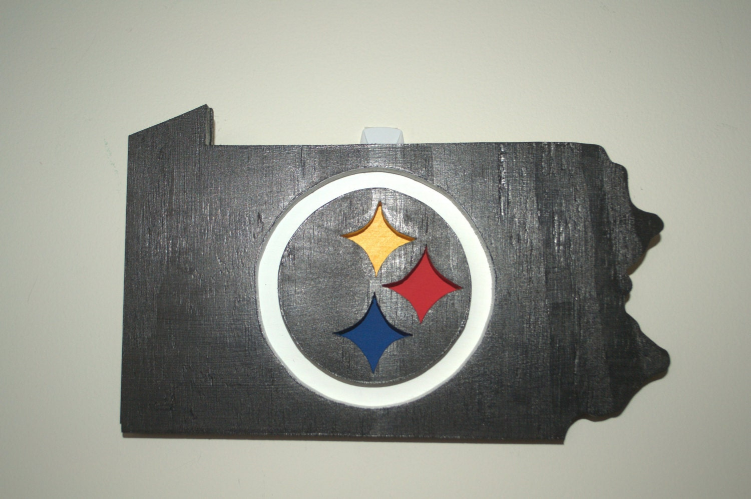 Wooden Sign Steelers Logo Steelers Sign