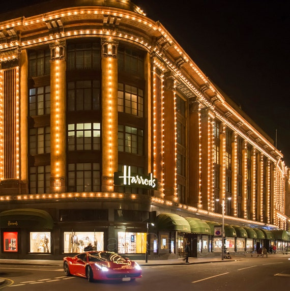 Items similar to Harrods department store Facade