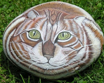 Custom animal portraits on  stone