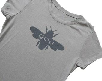 Bee You T-Shirt, Bee Happy T-Shirt, Womens Next Level T, Original Art, Screen Printed