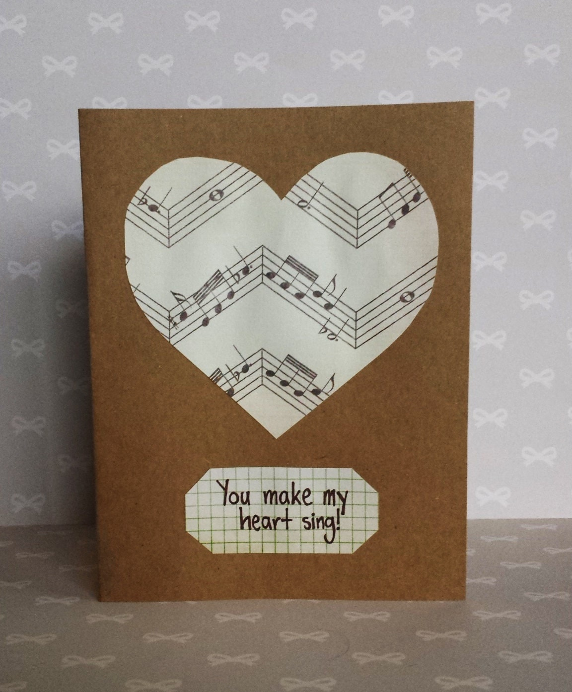 you make my heart sing valentines you make my sing card great for s day 7949