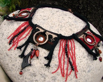 Amazon necklace - ethnic necklace - Amazon Indians - Souvenir of the river - Bandidas