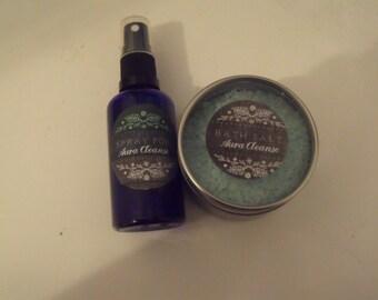 Aura Cleanse Ritual Kit - Salt & Spray