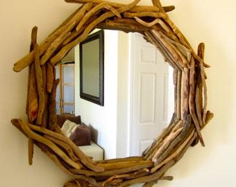 Nautical mirror Etsy
