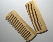 Set of 2 wooden comb. Gift for her. Gift for him. Women comb. Wooden comb. Wood carving.  Wooden combs.  Brush Hair.  Wood сarved comb